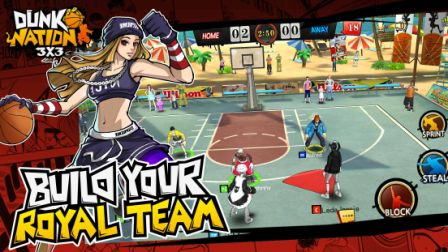 Dunk Nation 3X3 Cheats Hack