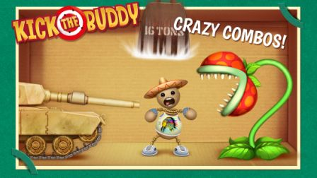 Kick the Buddy Cheats Hack Add Infinity Gold and Bucks